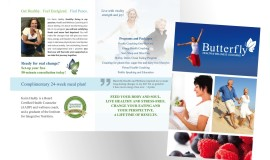 Butterfly Health and Wellness Coaching Rebrand by Rapunzel Creative Marketing