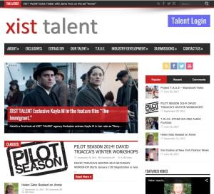 XISTTALENT.COM Home Page