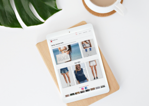 website design services retail store