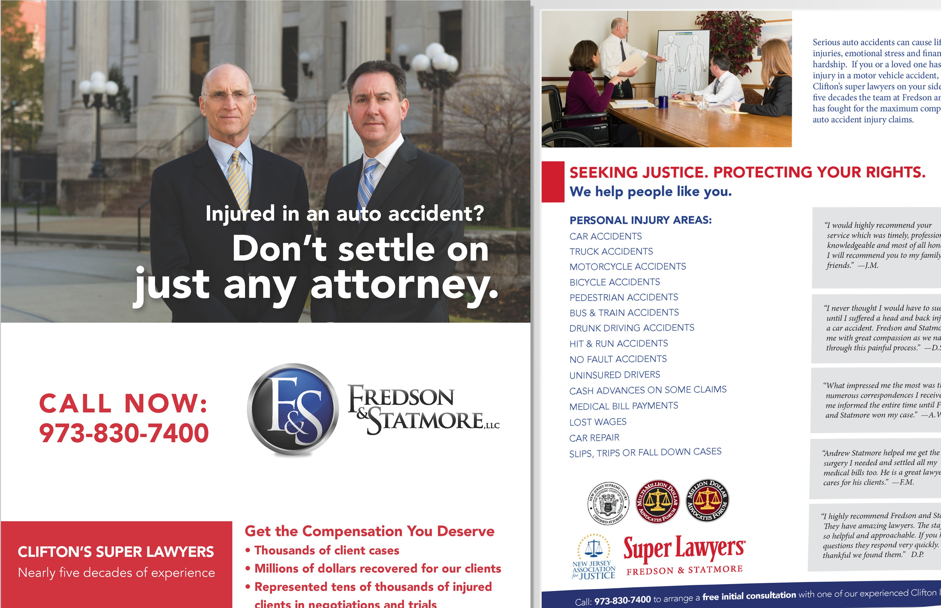Fredson & Statmore, LLC Direct Mail Campaign