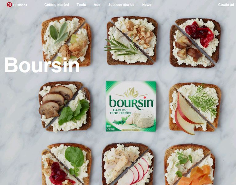Take a Bite Out of Boursin: A Pinterest Success Story
