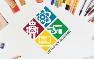 Tech Science Education Logo Design Rapunzel Creative