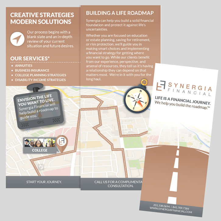 Synergia Financial Branding
