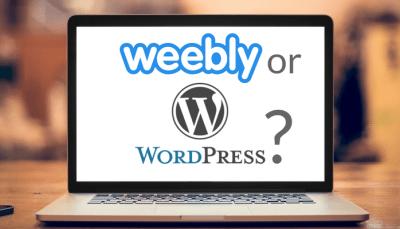 Choosing Weebly or WordPress