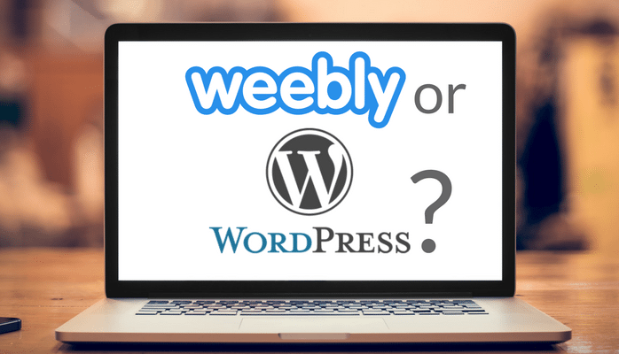 Choosing Weebly or WordPress