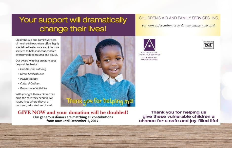 Nonprofit direct mail donor appeals