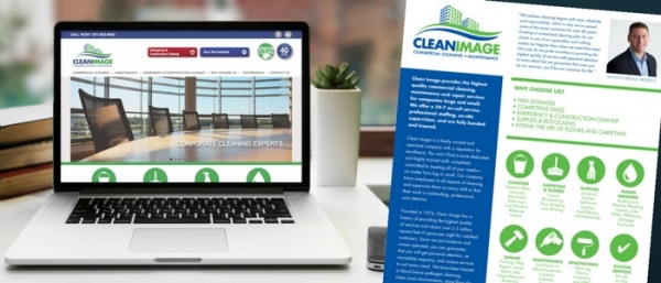 Corporate rebrand increases leads and sales for commercial cleaning company.