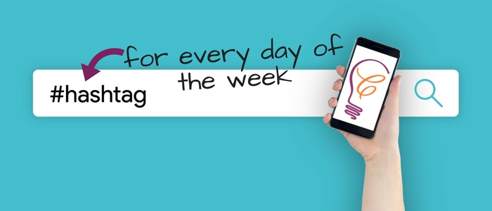 Social Media #Hashtags for Every Day of the Week