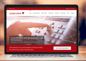 website design services voIP voice-over-IP business