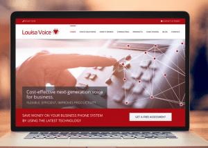 website design services voIP voice-over-IP business