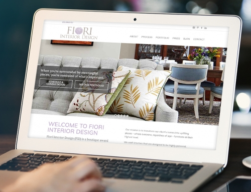 Interior Design Firm Website Redesigned