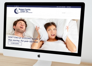 Website Design Sleep Center