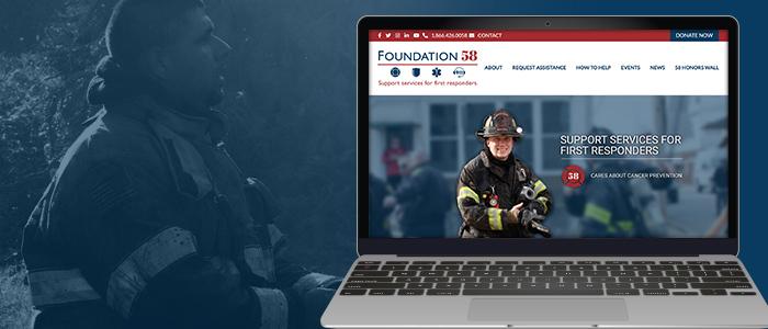 Nonprofit Rebranding and Website Design for Foundation 58