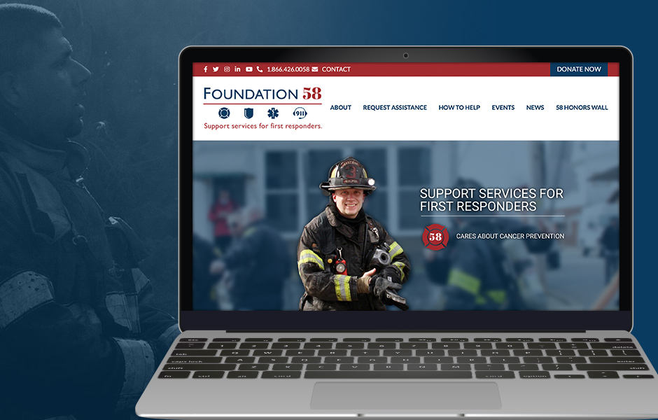 Foundation 58 Website Design